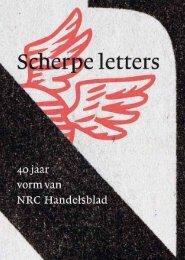 Scherpe letters - Nrc