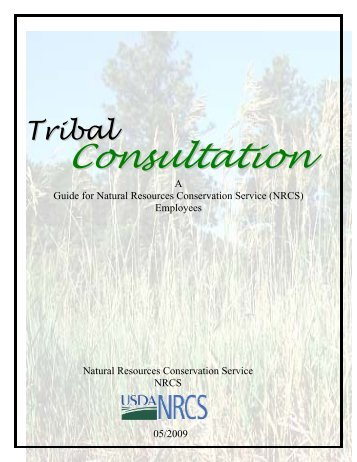 NRCS Tribal Consultation Guide - Natural Resources Conservation ...