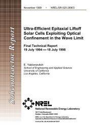 Ultra-Efficient Epitaxial Liftoff Solar Cells Exploiting Optical ... - NREL