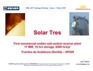 Solar Tres - First Commercial Molten-Salt Central Receiver ... - NREL