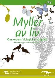 Om jordens biologiska mångfald - Naturhistoriska riksmuseet