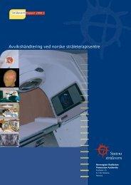 StrålevernRapport 2006:3 - Statens strålevern