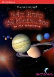 Lärarhandledning Från Pluto till Merkurius