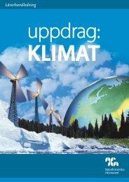 NRM Klimat Lärarhandl.pdf - Naturhistoriska riksmuseet