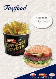 Fastfood - Norsk Storhusholdning