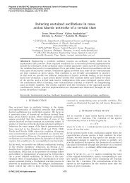 Inducing Sustained Oscillations in Mass Action Kinetic Networks of a ...
