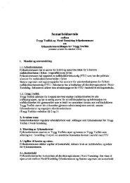 Oppdatert Samarbeidsavtale mellom Trygg Trafikk og Nord ...