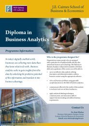 Diploma in Business Analytics
