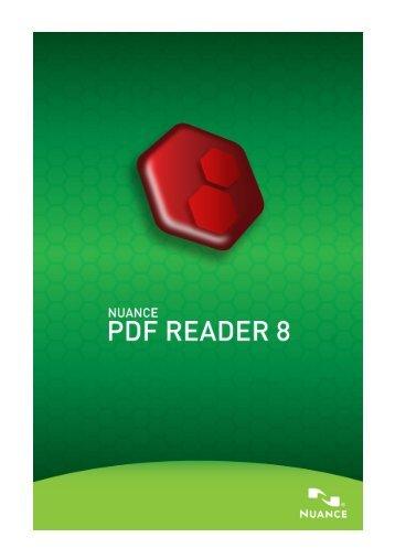 PDF Reader 8 - Nuance