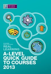 A level Guide 2013 - National University of Ireland, Galway