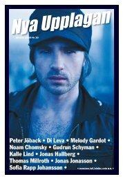 Peter Jöback • Di Leva • Melody Gardot • Noam ... - Nya Upplagan
