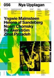 Yngwie Malmsteen Helena af Sandeberg Noam ... - Nya Upplagan