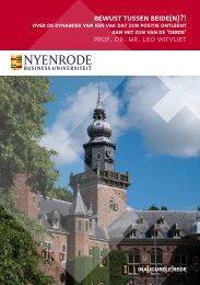 prof. dr. mr. leo witvliet - Nyenrode Business Universiteit