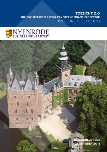 De oratie - Nyenrode Business Universiteit