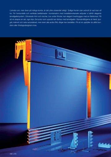 LFS. Konsoler och lamellgallersystem - OBO Bettermann