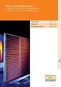 LFS. Konsoler och lamellgallersystem - OBO Bettermann - Page 2