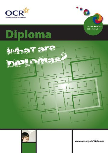 Introduction to Diplomas - OCR