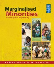 Marginalised Minorities in Development Programming - Office of the ...