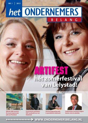 Het Ondernemersbelang Flevoland nummer 1-2012