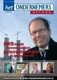Het Ondernemersbelang Groningen nummer 1-2011
