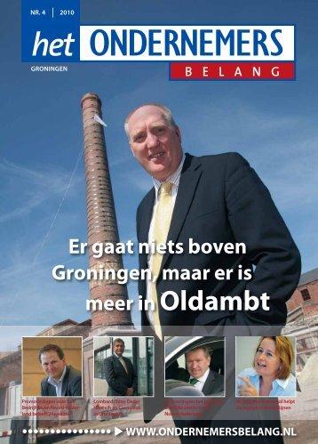 Het Ondernemersbelang Groningen nummer 4-2010