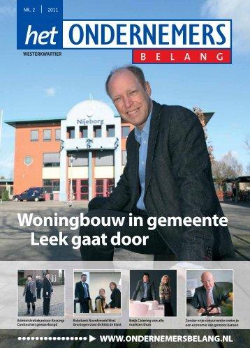 Het Ondernemersbelang Westerkwartier nummer 2-2011