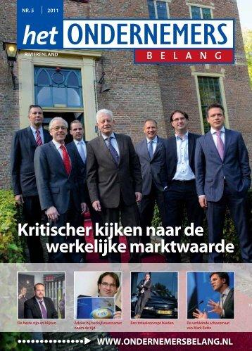Het Ondernemersbelang Rivierenland nummer 5-2011