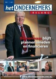 Het Ondernemersbelang Hoeksche Waard nummer 1-2011