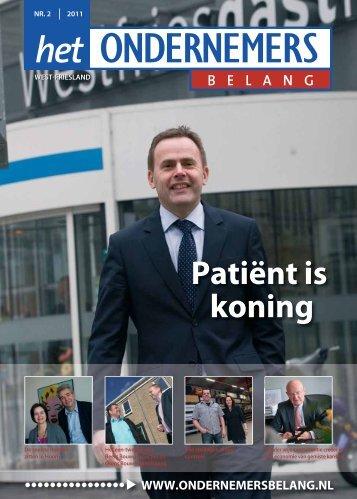 Patiënt is koning - Het Ondernemersbelang