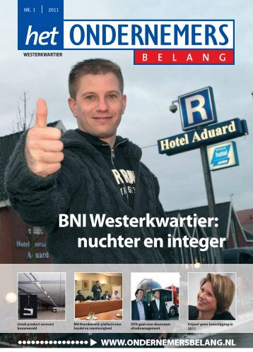 Het Ondernemersbelang Westerkwartier nummer 1-2011