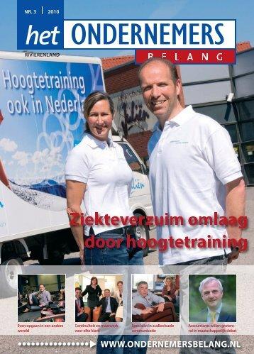 Het Ondernemersbelang Rivierenland nummer 3-2010
