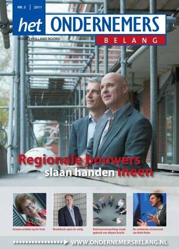 Regionale bouwers - Het Ondernemersbelang