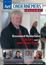 t Gooi nummer 1-2011 - Het Ondernemersbelang