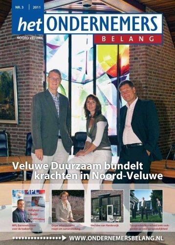 Het Ondernemersbelang Noord Veluwe nummer 3-2011