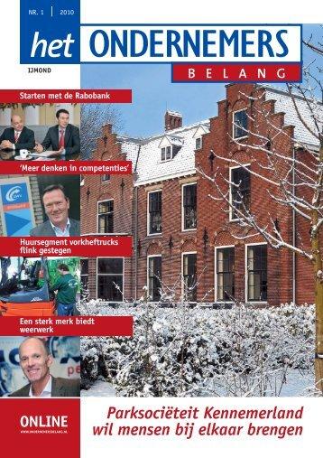 Het Ondernemersbelang IJmond nummer 1-2010