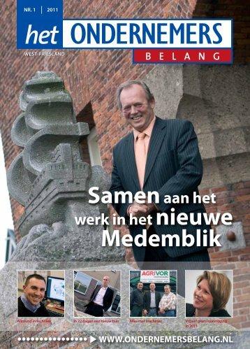 Het Ondernemersbelang West Friesland nummer 1-2011