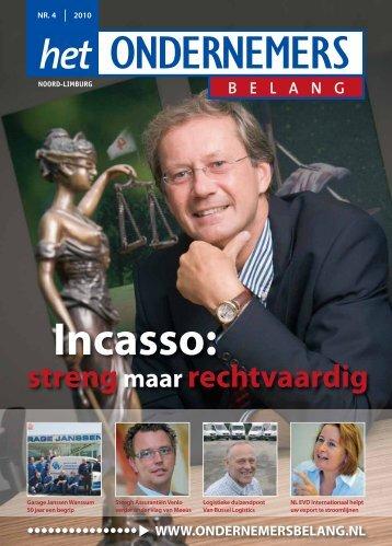 Het Ondernemersbelang Noord-Limburg nummer 4-2010