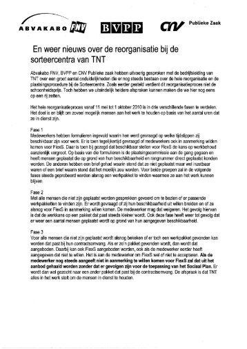 nieuwsbrief - CNV Publieke Zaak