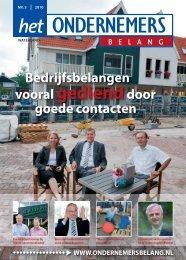 Het Ondernemersbelang Waterland nummer 3-2010