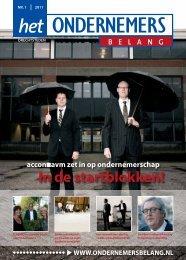 Het Ondernemersbelang Drechtsteden nummer 1-2011