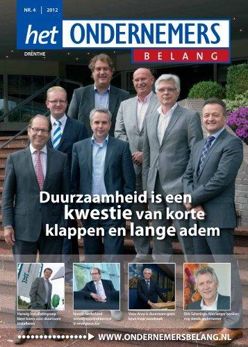 nr. 4. 2012 - Het Ondernemersbelang