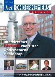 HOB Haarlemmermeerlanden nummer 1-2012 - Het ...