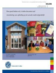 Hoe goed leiden wij (v)mbo docenten op ... - Onderwijsraad