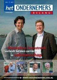 Het Ondernemersbelang Zaanstreek nummer 3-2010