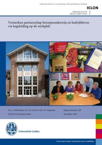 Integrale Tekst (pdf, 640kB) - Onderwijsraad