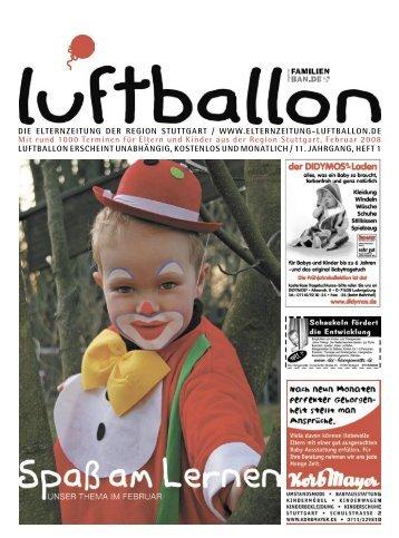 Luftballon Feb 08.indb - Elternzeitung Luftballon