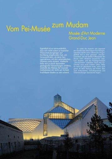 zum Mudam Vom Pei-Musée - Ons Stad