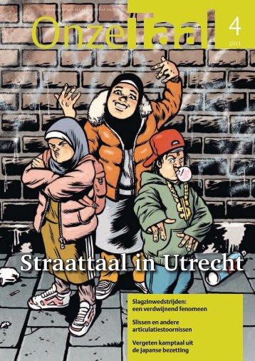 Straattaal in Utrecht - Genootschap Onze Taal