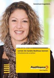Lernen Sie Sandra Backhaus kennen - Mitarbeitende erzählen