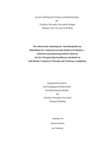 Dokument 1.pdf - Opus - Friedrich-Alexander-Universität Erlangen ...